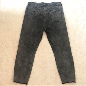 0833662ba7c4 ASOS Curve Jeans - ASOS Curve Highwaist Frayed Hem Ankle Grazer Jeans